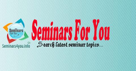 Information technology seminar topics.